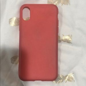 iphone x/xs coral case